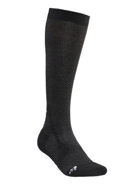 Craft warm hoge sokken zwart