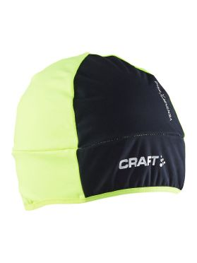 Craft Wrap helmmuts zwart/flumino unisex
