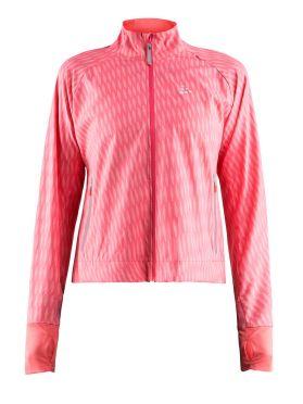 Craft Breakaway hardloopjack roze dames