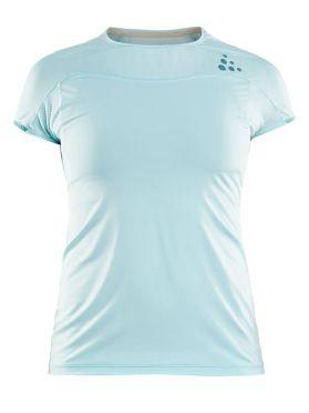 Craft Shade korte mouw hardloopshirt blauw dames
