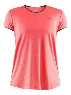Craft Eaze korte mouw hardloopshirt roze dames
