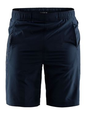 Craft Deft stretch hardloop short blauw heren