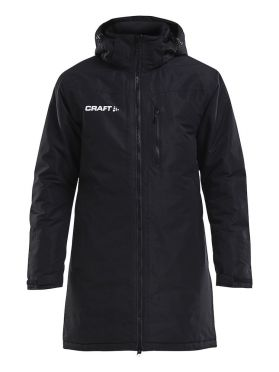 Craft Parkas trainings jas zwart heren