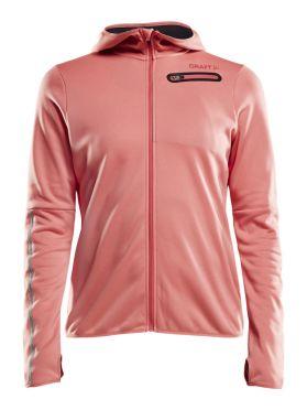 Craft Eaze jersey hardloopjack roze dames