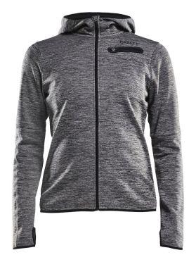 Craft Eaze jersey hardloopjack grijs dames