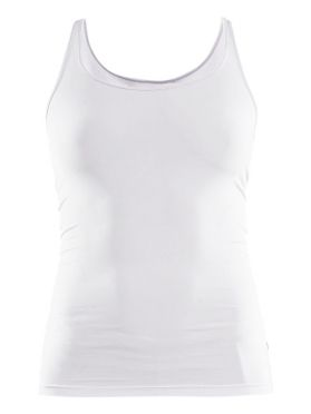Craft Essential Singlet mouwloos ondershirt wit dames