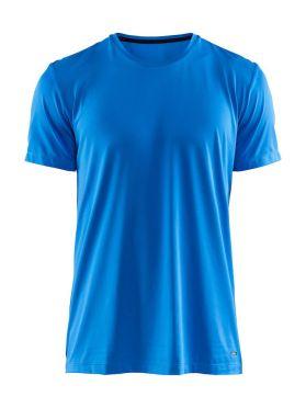 Craft Essential RN korte mouw shirt blauw heren