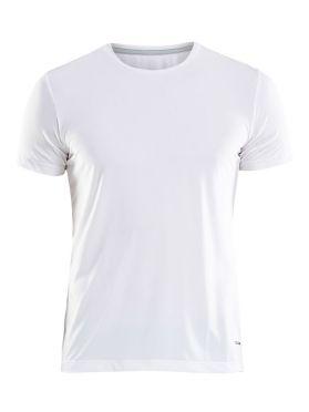 Craft Essential RN korte mouw shirt wit heren