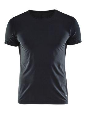 Craft Essential RN korte mouw shirt zwart heren