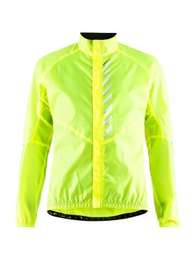 Craft Mist wind fietsjacket geel heren