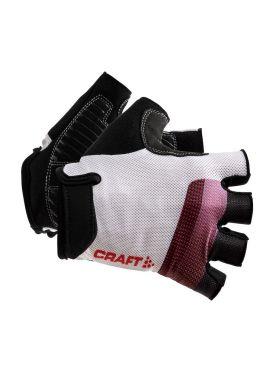 Craft Go fietshandschoenen wit/rood unisex