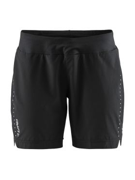 Craft Essential 7 inch hardloop short zwart dames