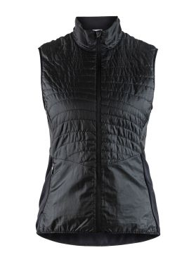 Craft Urban run body warmer hardloopjack zwart dames