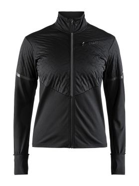 Craft Urban run thermal wind hardloopjack zwart dames