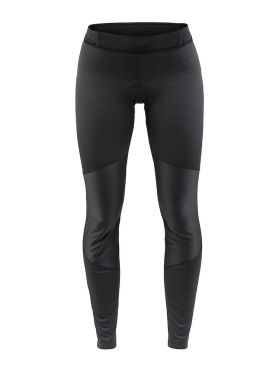 Craft Ideal wind tight fietsbroek zwart dames