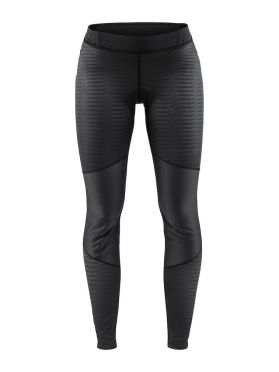 Craft Ideal wind tight fietsbroek zwart/strepen dames