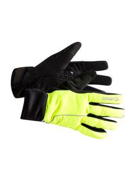 Craft Siberian 2.0 fietshandschoenen geel/zwart unisex