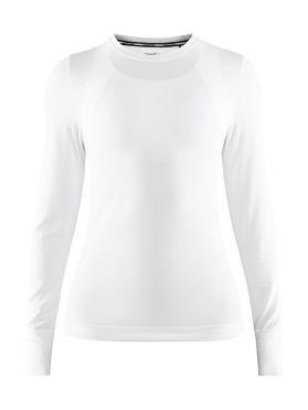 Craft Fuseknit comfort lange mouw ondershirt wit dames