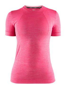Craft Fuseknit comfort korte mouw ondershirt roze dames