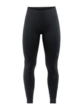 Craft Warm comfort lange onderbroek zwart dames