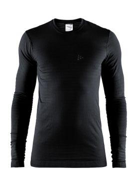 Craft Warm comfort lange mouw ondershirt zwart heren