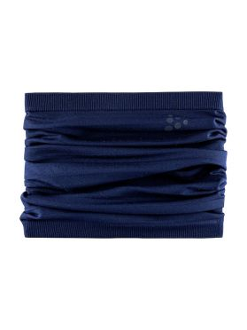 Craft Warm comfort nek warmer blauw