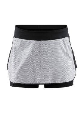 Craft Charge skirt sportrok zwart/grijs dames