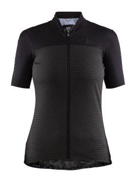 Craft Hale Glow fietsshirt zwart dames
