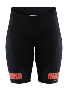 Craft Hale glow shorts zwart/boost dames