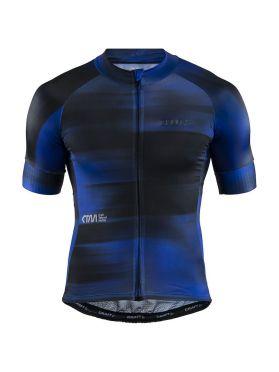 Craft CTM Aerolight fietsshirt blauw/zwart heren