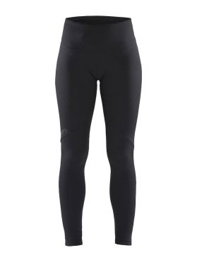 Craft Essential warm tight hardloopbroek zwart dames