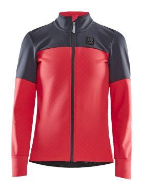 Craft Hale Subzero fietsjacket roze/grijs dames