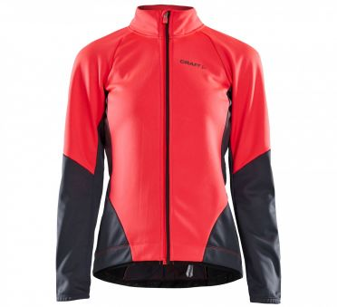 Craft Ideal fietsjacket roze/grijs dames