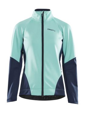 Craft Ideal fietsjacket cyaan/blauw dames