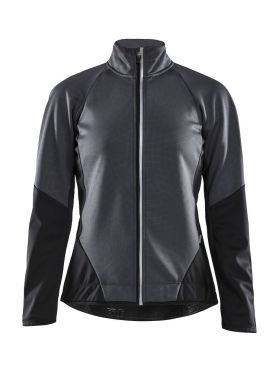 Craft Ideal fietsjacket grijs/zwart dames