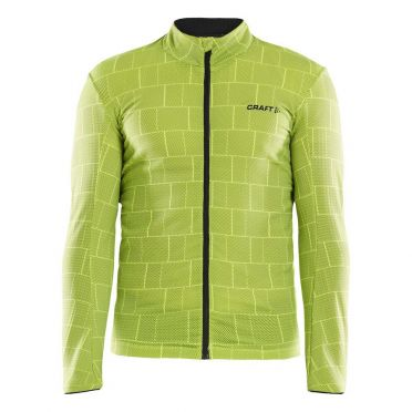 Craft Ideal Thermal fietsshirt geel heren