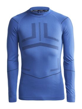 Craft Active Intensity CN lange mouw ondershirt blauw heren