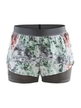 Craft Vent 2 in 1 Racing hardloop short multi dames
