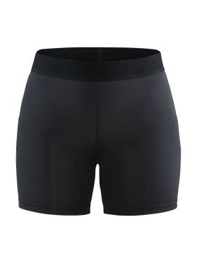 Craft Vent short tight hardloopbroek zwart dames`