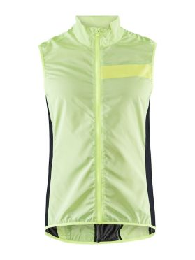 Craft Essence Light Wind fietsvest geel heren