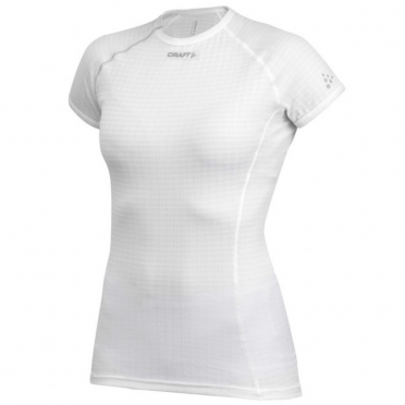Craft Active extreme korte mouw ondershirt wit dames