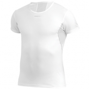 Craft Stay cool mesh ondershirt korte mouw wit heren