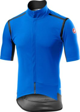 Castelli Gabba RoS korte mouw fietsshirt blauw heren
