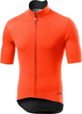 Castelli Perfetto RoS Light korte mouw fietsshirt oranje heren