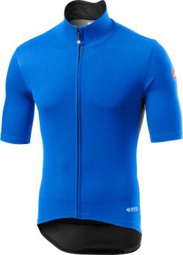 Castelli Perfetto RoS Light korte mouw fietsshirt blauw heren