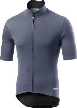 Castelli Perfetto RoS Light korte mouw fietsshirt dark steel blauw heren