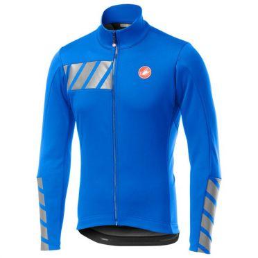 Castelli Raddoppia 2 jacket blauw heren