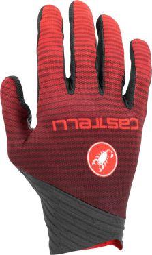 Castelli CW. 6.1 cross glove crosshandschoenen zwart/rood heren