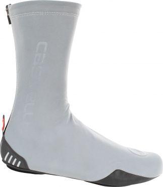 Castelli Reflex shoecover overschoen zilver heren