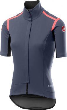 Castelli Gabba RoS W korte mouw fietsshirt dark steel blauw dames
